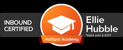 Inbound certification with the HubSpot Academy